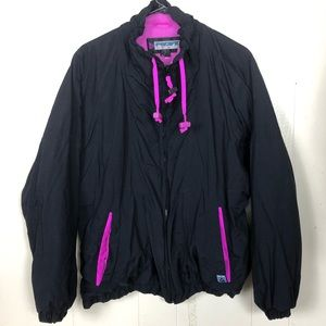 Pacific Trail Winter Coat black out & pink In LG